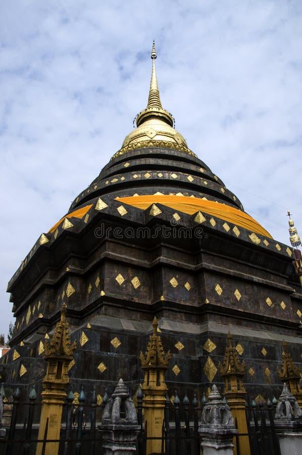 Świątynia przy Lampang prowincją obrazy stock