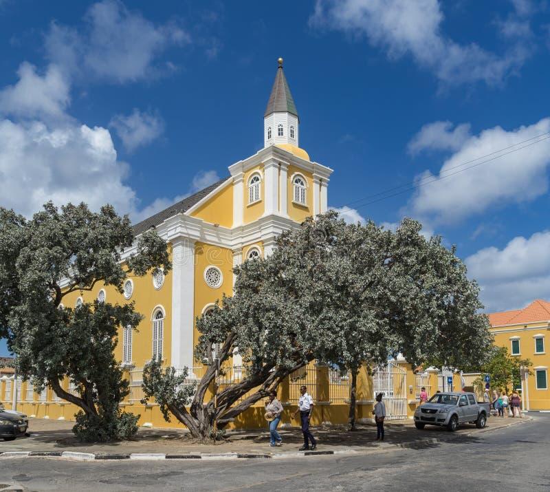 Świątynia - Punda Curacao widoki fotografia royalty free