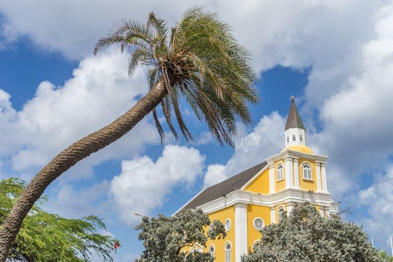 Świątynia - Punda Curacao widoki obrazy royalty free