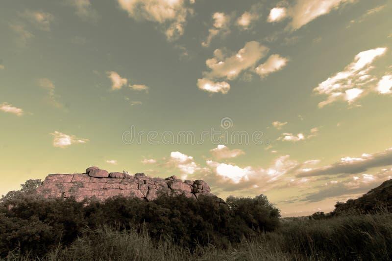 Świątynia rockowy ` Monastyrysche ` obraz stock