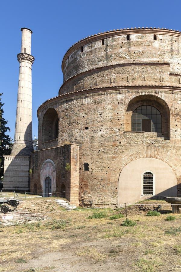 Świątynia Rzymska w Salonikach, Grecja obrazy royalty free