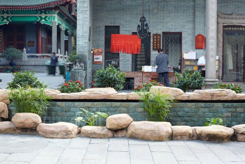 Świątynia Sześć Banyan drzew, Buddyjski monaster zdjęcia stock