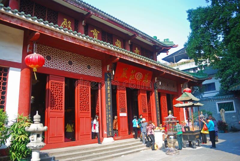 Świątynia Sześć Banyan drzew, Guangzhou, Chiny fotografia royalty free