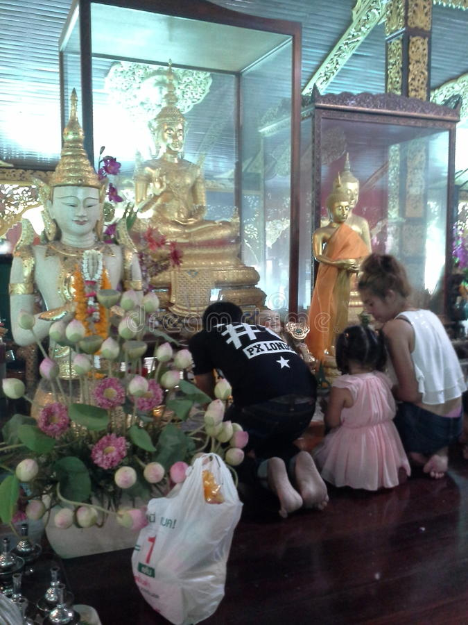 świątynia tajska zdjęcie royalty free