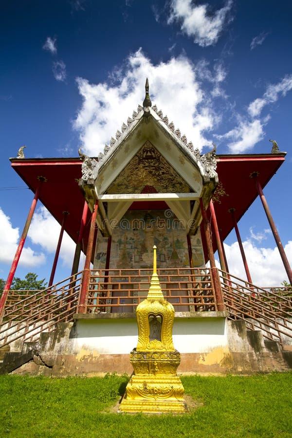 świątynia Thailand dłoni fotografia royalty free