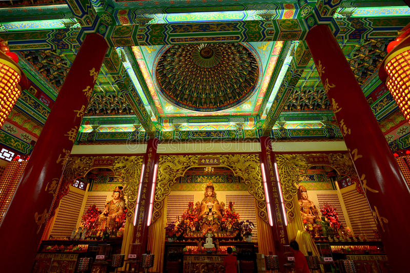 świątynia thean hwa zdjęcie stock