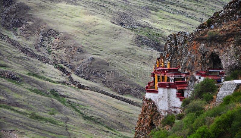Świątynia, Tybet zdjęcie royalty free
