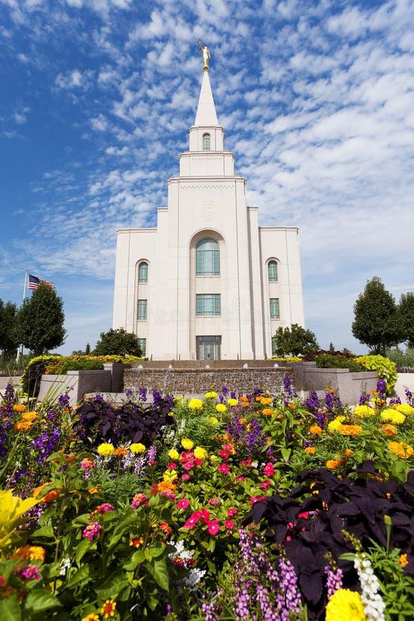Świątynia w Kansas City Missouri fotografia stock
