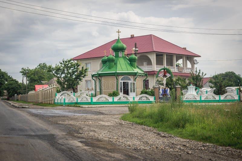 Świątynia w Ukraina zdjęcie royalty free