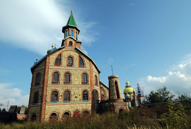 Świątynia Wszystkie religie, Kazan, Rosja zdjęcia royalty free