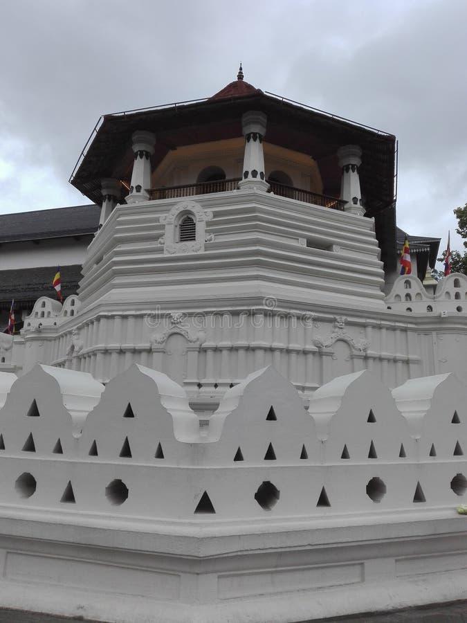 Świątynia ząb relikwii fotografia w sri lance obrazy royalty free