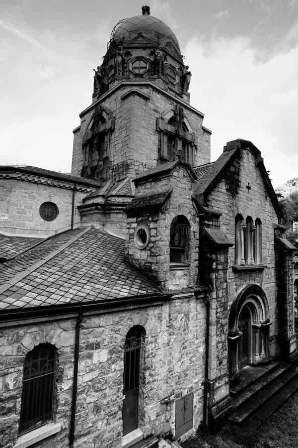 Świątynia zwycięstwo - San Pellegrino Terme obrazy royalty free