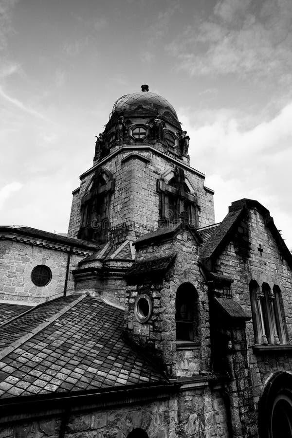 Świątynia zwycięstwo - San Pellegrino Terme obraz royalty free