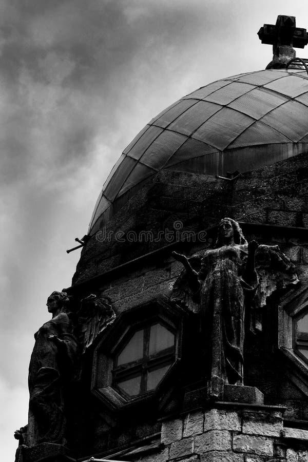 Świątynia zwycięstwo - San Pellegrino Terme kopuła obraz royalty free