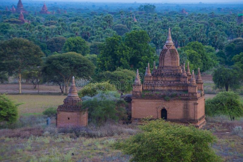 Świątynie bagan Myanmar fotografia royalty free