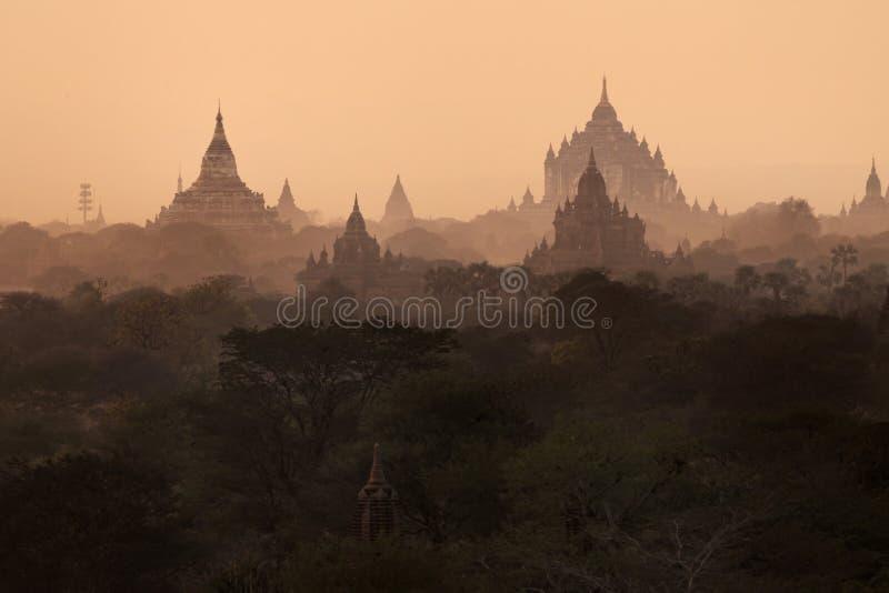 Świątynie Mandalay Bagan, Myanmar, Birma (poganin) obraz royalty free