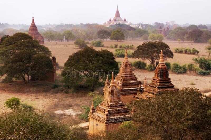 Świątynie Mandalay Bagan, Myanmar, Birma (poganin) obrazy royalty free