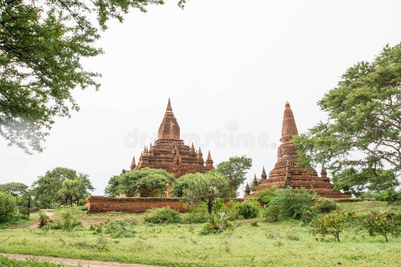 Świątynie Myanmar Bagan, (poganin) obraz stock