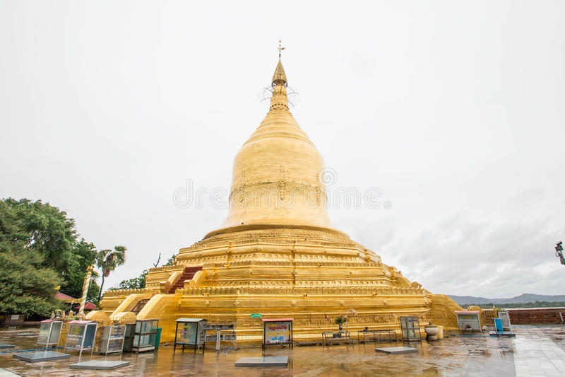 Świątynie Myanmar Bagan, (poganin) fotografia stock