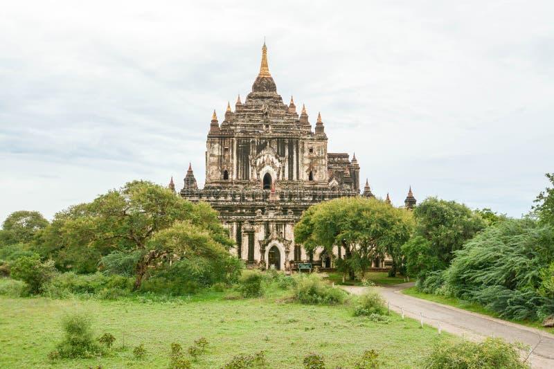 Świątynie Myanmar Bagan, (poganin) obrazy stock