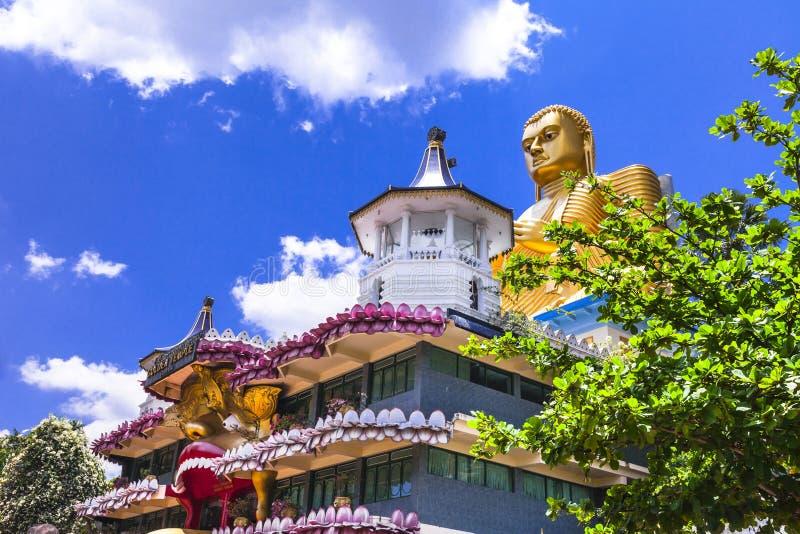 Świątynie Sri lanka obrazy royalty free