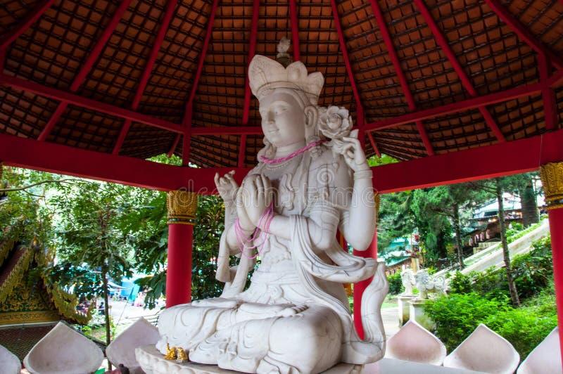 Świątynie Tajlandia - bogini Kali fotografia stock