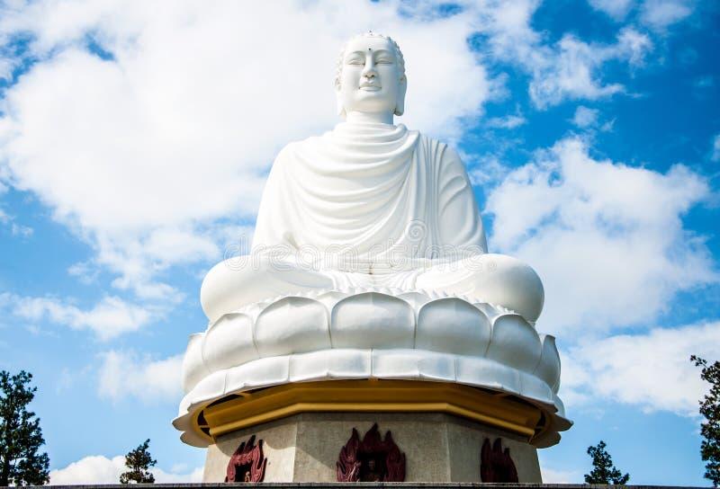 Świątynie Wietnam Buddha statua zdjęcie stock