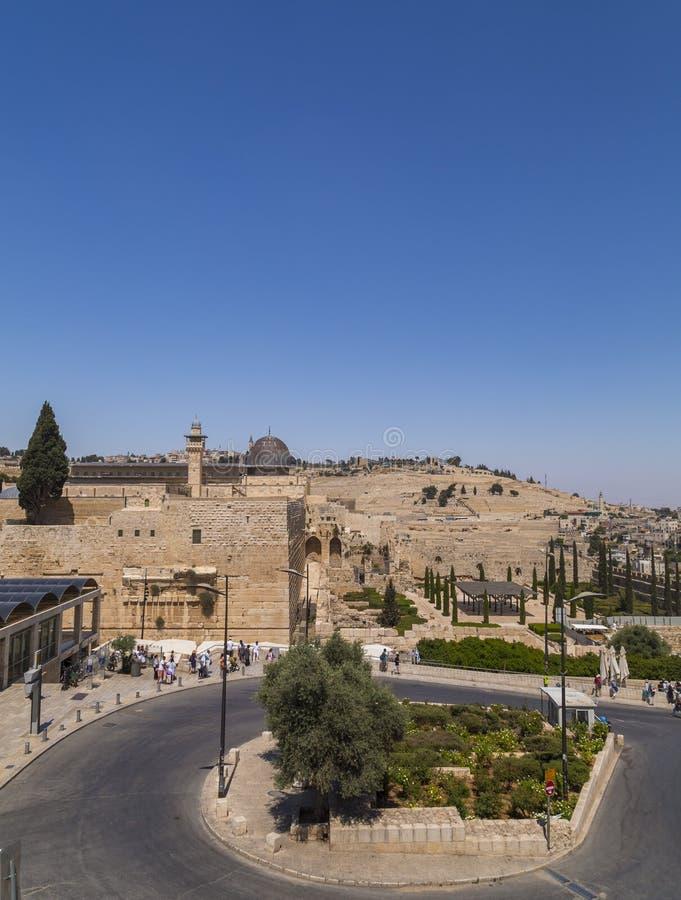 Świątynna góra w Jerozolima, Izrael zdjęcia royalty free