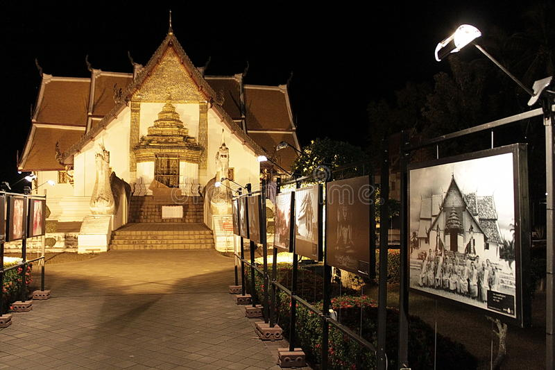 Świątynna wystawa zdjęcia royalty free