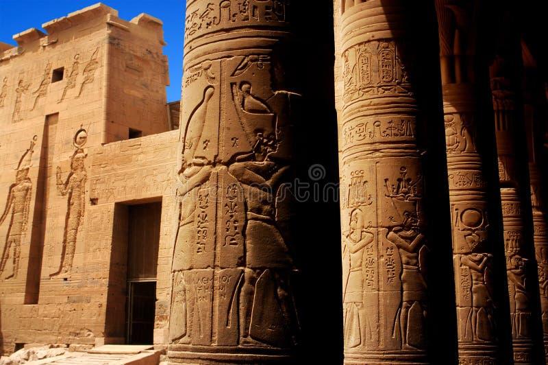 świątynni Egypt philae fotografia royalty free