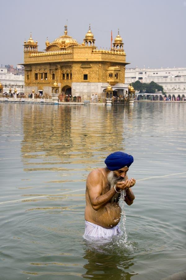świątynni złoci Amritsar ind obrazy royalty free