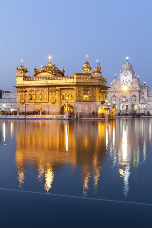 świątynni złoci Amritsar ind fotografia stock