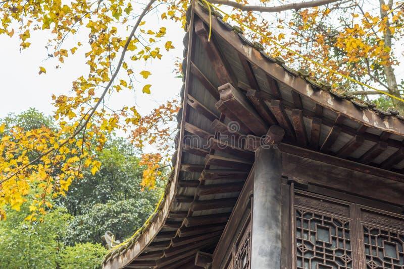świątynni zbliżenie chińscy okapy obrazy stock