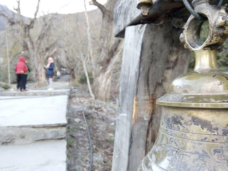 Świątynny Bell zdjęcia stock