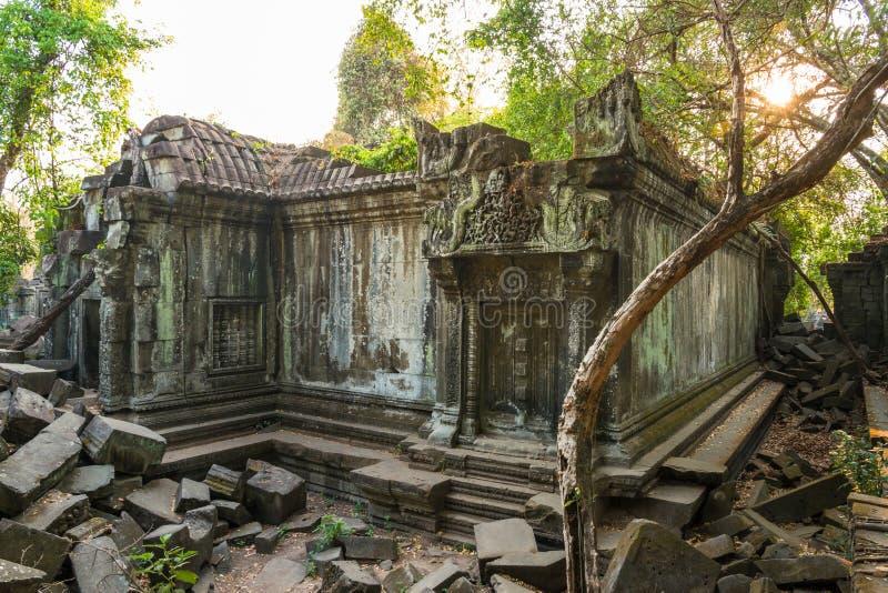 Świątynny Beng Mealea, Angkor Wat, Kambodża obraz stock