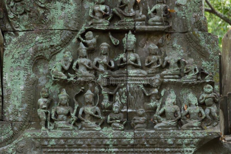 Świątynny Beng Mealea, Angkor Wat, Kambodża fotografia royalty free