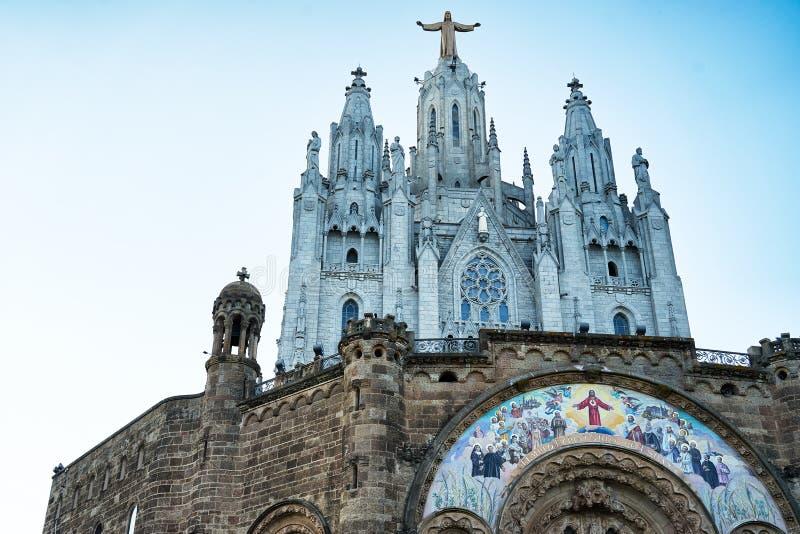 Świątynny Del Sagrat Cor, Barcelona Hiszpania 2016 zdjęcia stock