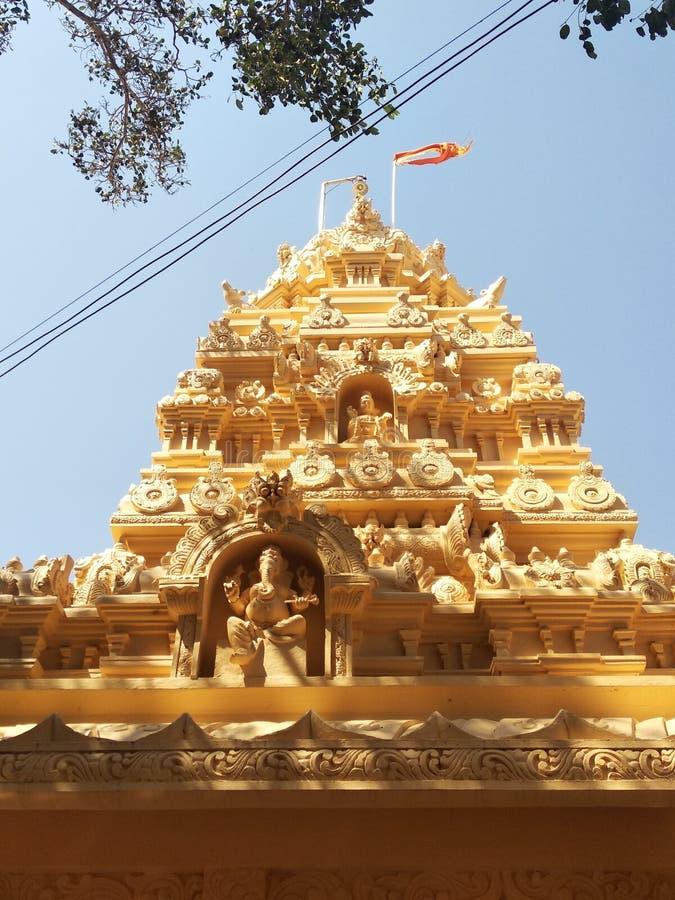 Świątynny handmade Kalash projekt dobry obrazy stock