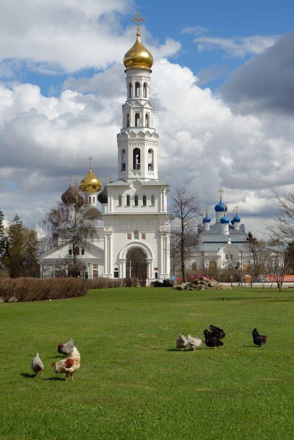 Świątynny kompleks w Zavidovo fotografia royalty free