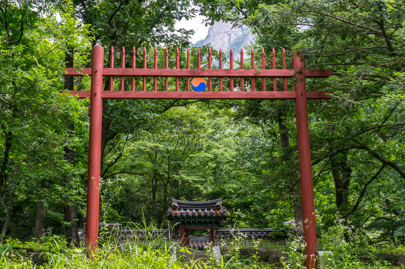 Świątynny ołtarz zdjęcia royalty free