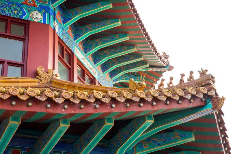 Świątynny Qingdao Chiny obrazy royalty free