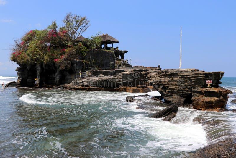 Świątynny tanah udział - Bali Indonezja Azja obraz royalty free