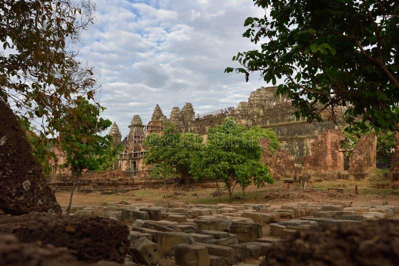 Świątynny wieczór fotografia stock