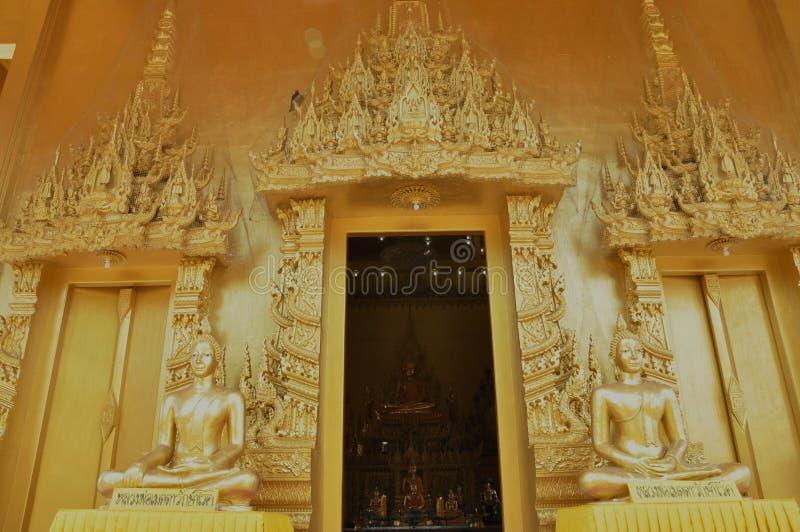 Świątynny złoto zdjęcie royalty free