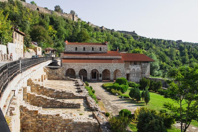 Święci Czterdzieści męczenników Kościelnych w Veliko Tarnovo fotografia royalty free