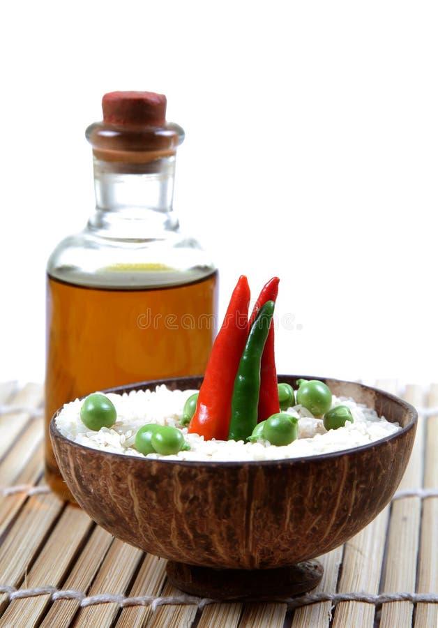 święci nafciani ryż zdjęcie royalty free