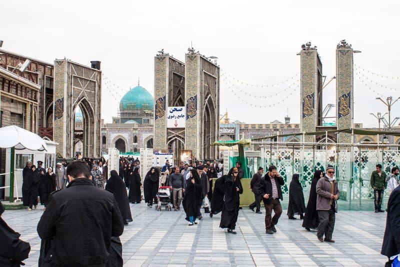 Święta świątynia imam Reza obraz royalty free