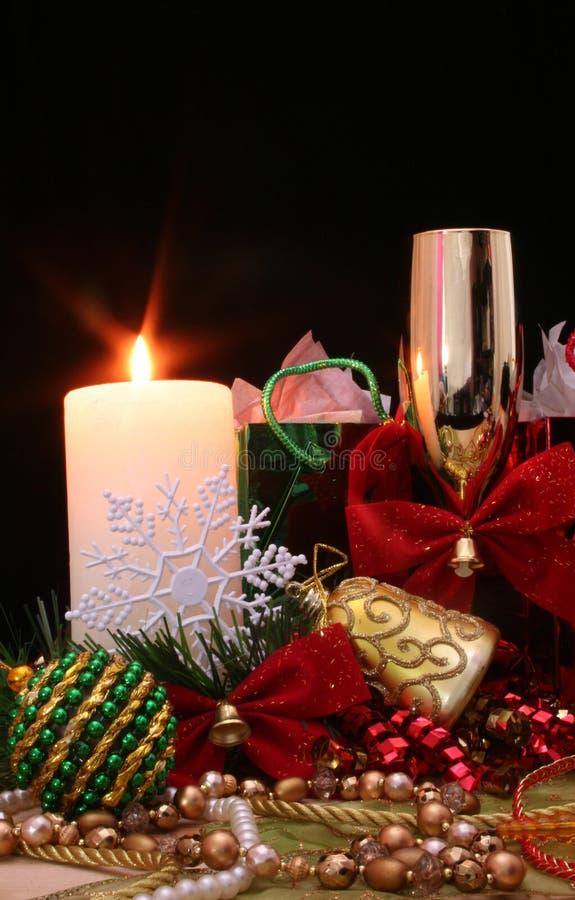 Święta świec obraz stock