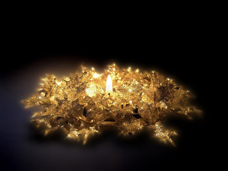 Download Święta świec zdjęcie stock. Obraz złożonej z świeczki, złoto - 24630