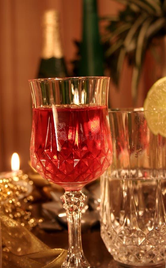 Święta życzeń nowego roku zdjęcie stock